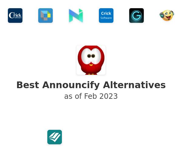 Best Announcify Alternatives