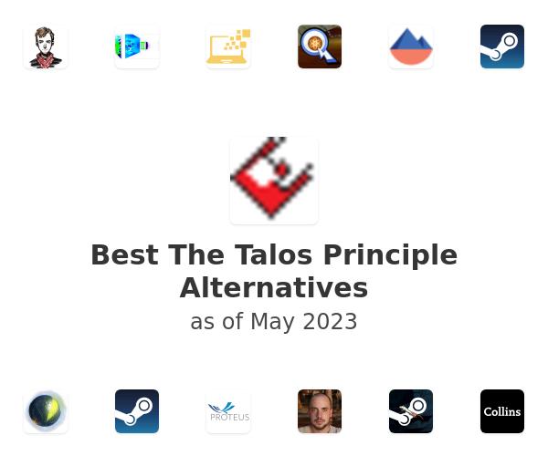Best The Talos Principle Alternatives