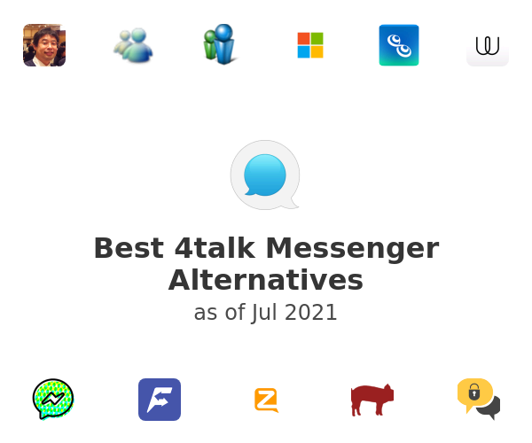 Best 4talk Messenger Alternatives