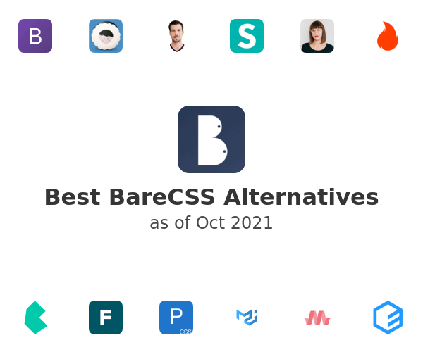 Best BareCSS Alternatives