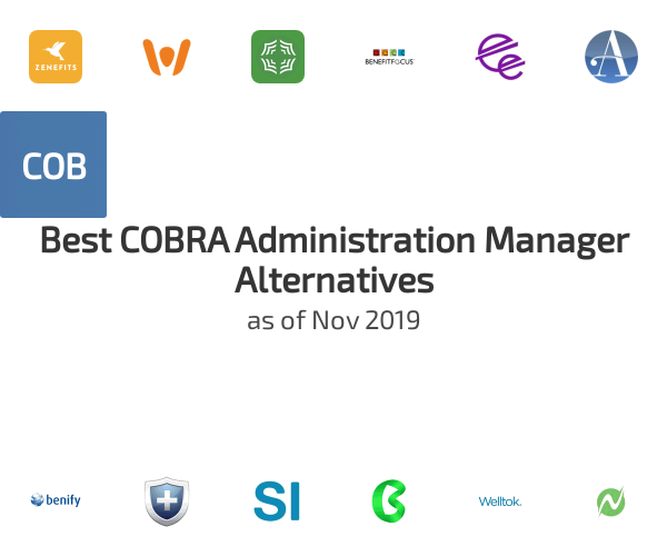 Best COBRA Administration Manager Alternatives