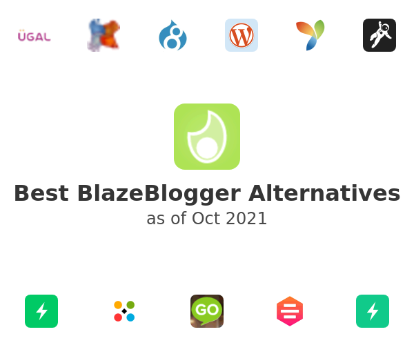 Best BlazeBlogger Alternatives