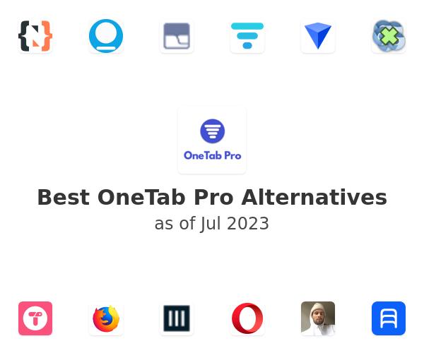 Best OneTab Pro Alternatives