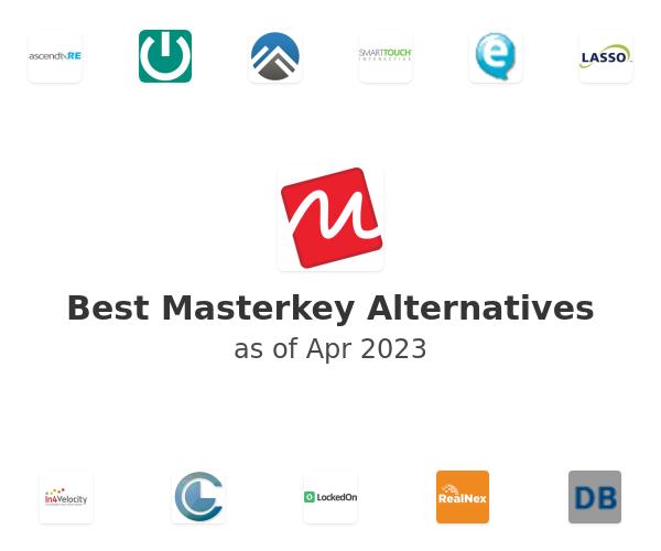 Best Masterkey Alternatives