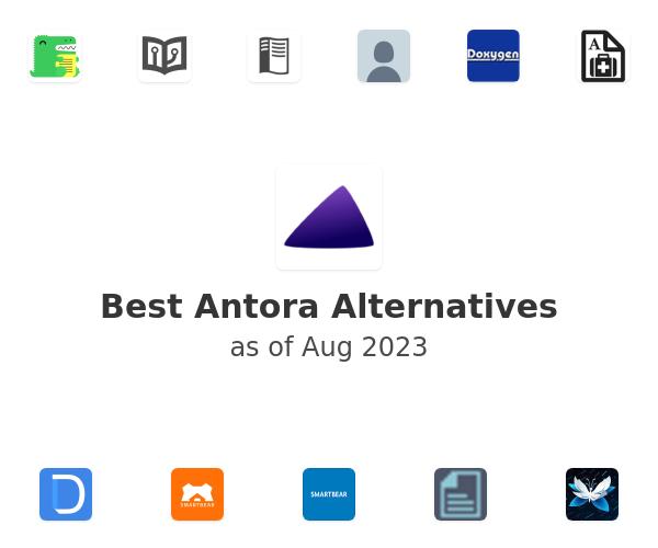 Best Antora Alternatives