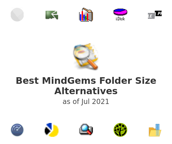 Best MindGems Folder Size Alternatives