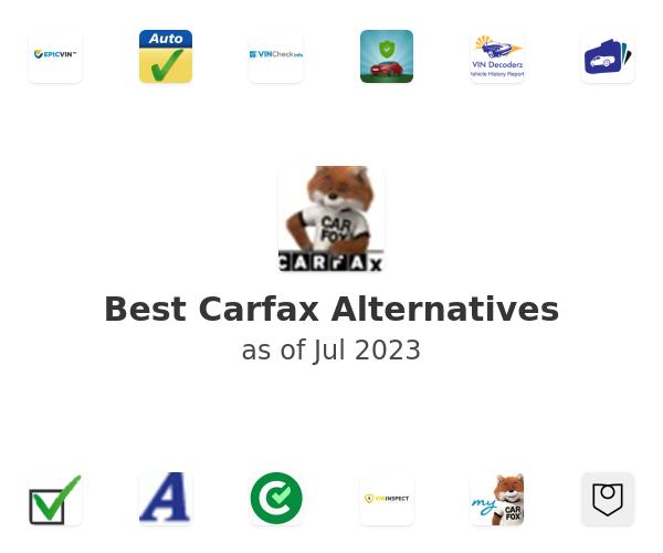 Best Carfax Alternatives