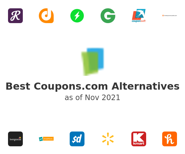 Best Coupons.com Alternatives