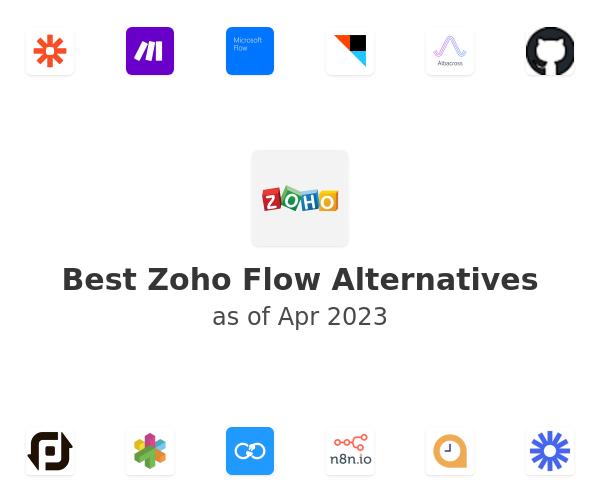 Best Zoho Flow Alternatives