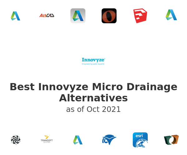 Best Innovyze Micro Drainage Alternatives