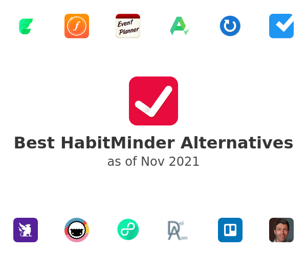 Best HabitMinder Alternatives