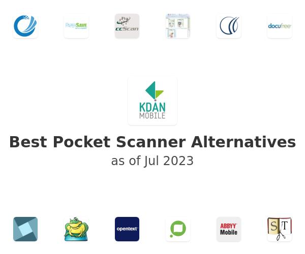 Best Pocket Scanner Alternatives