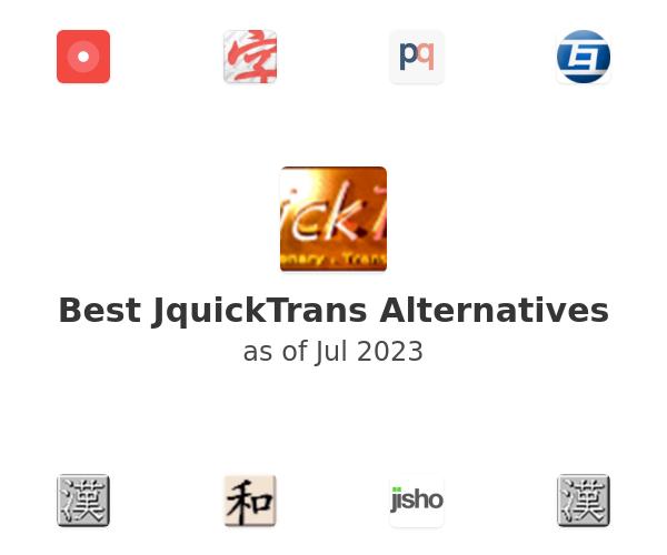 Best JquickTrans Alternatives