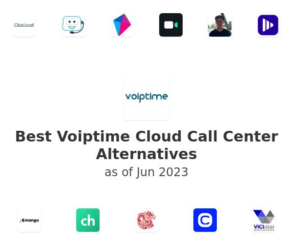 Best Voiptime Cloud Call Center Alternatives