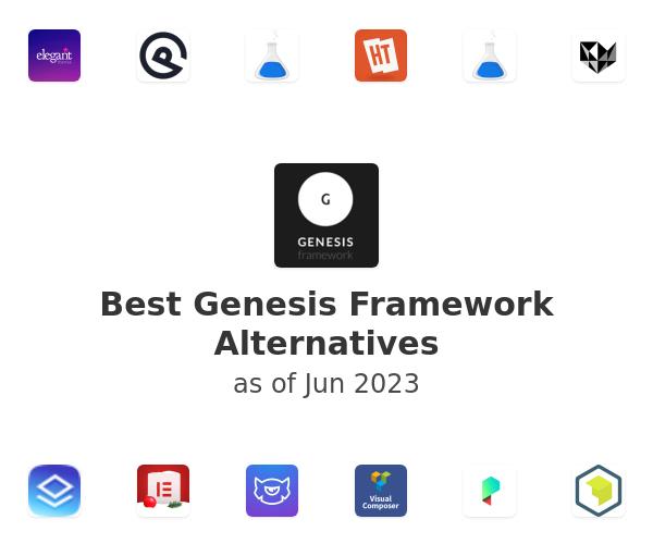 Best Genesis Framework Alternatives
