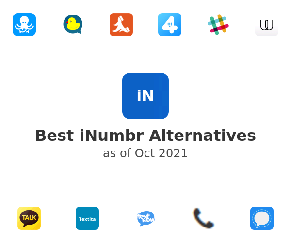 Best iNumbr Alternatives