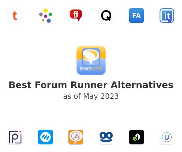 Best Forum Runner Alternatives