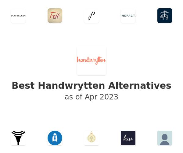 Best Handwrytten Alternatives