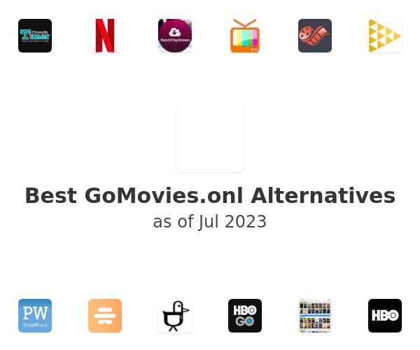 Best GoMovies.onl Alternatives