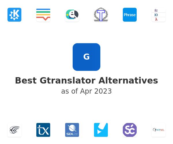 Best Gtranslator Alternatives