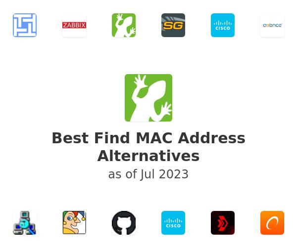 Best Find MAC Address Alternatives