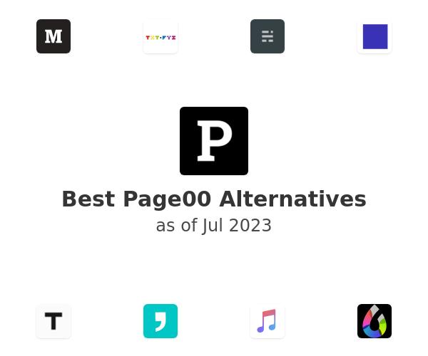 Best Page00 Alternatives