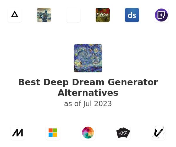 Best Deep Dream Generator Alternatives