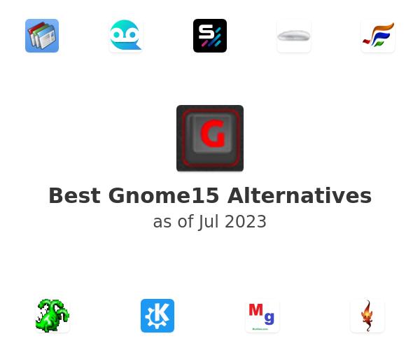 Best Gnome15 Alternatives