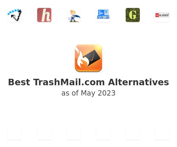Best TrashMail.com Alternatives