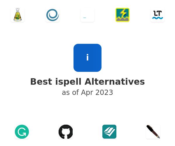 Best ispell Alternatives