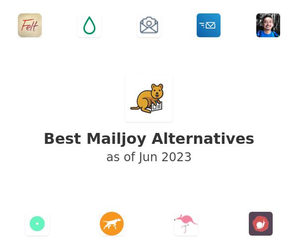 Best Mailjoy Alternatives