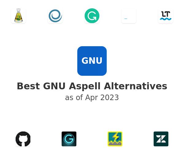 Best GNU Aspell Alternatives