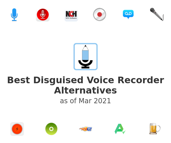 Best Disguised Voice Recorder Alternatives