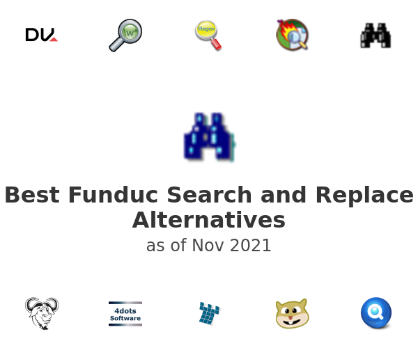 Best Funduc Search and Replace Alternatives