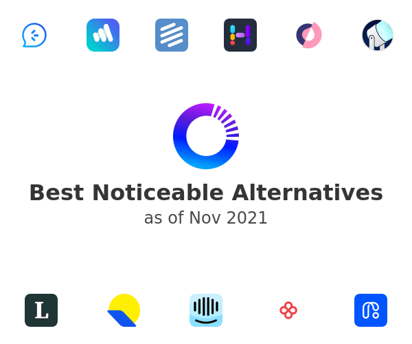 Best Noticeable Alternatives