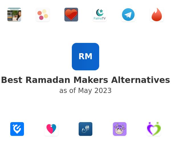 Best Ramadan Makers Alternatives