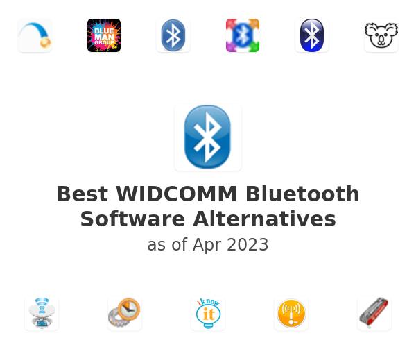 Best WIDCOMM Bluetooth Software Alternatives