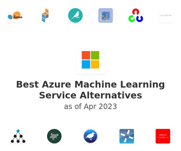 Best Azure Machine Learning Service Alternatives