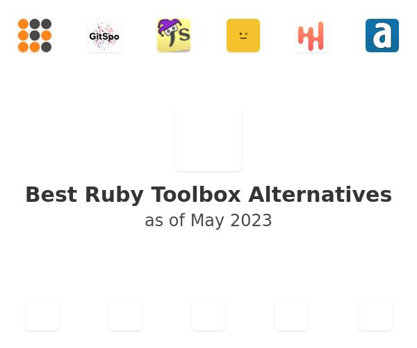Best Ruby Toolbox Alternatives
