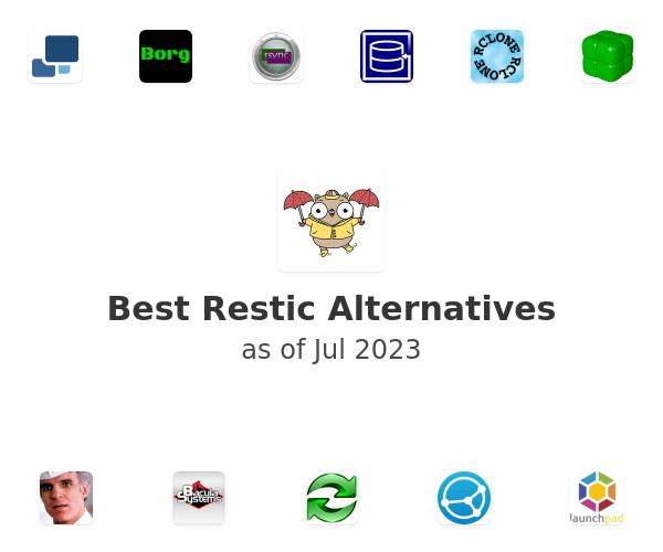Best Restic Alternatives