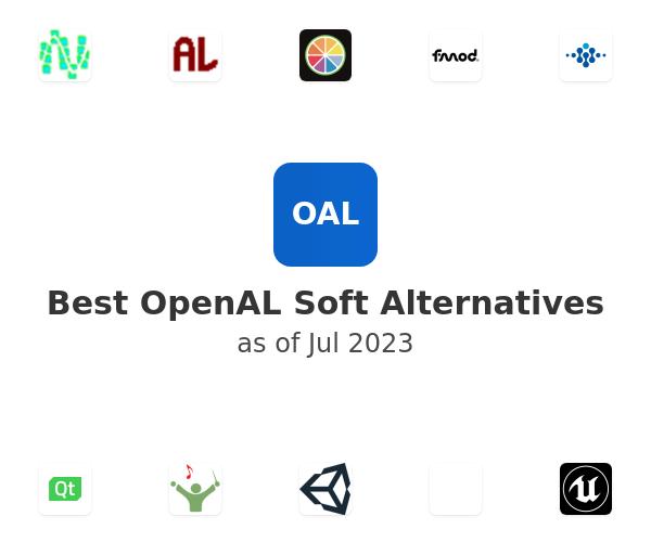 Best OpenAL Soft Alternatives