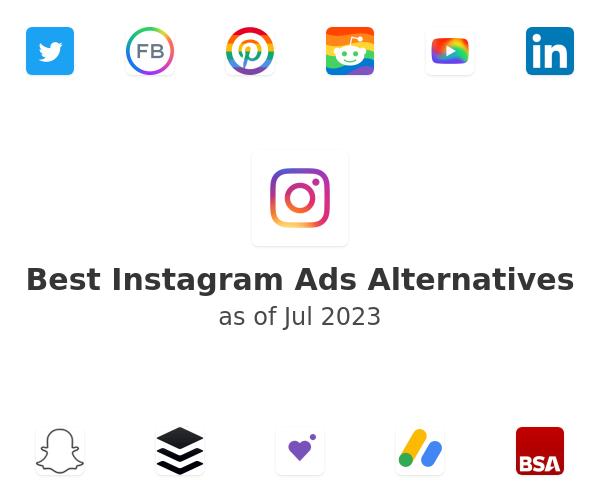 Best Instagram Ads Alternatives