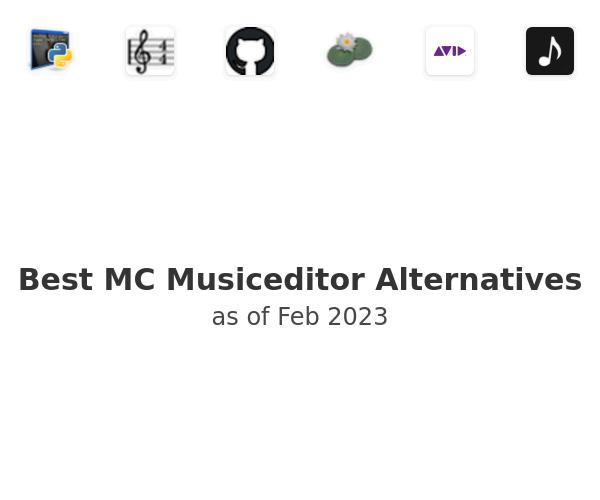 Best MC Musiceditor Alternatives