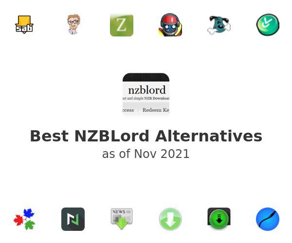 Best NZBLord Alternatives