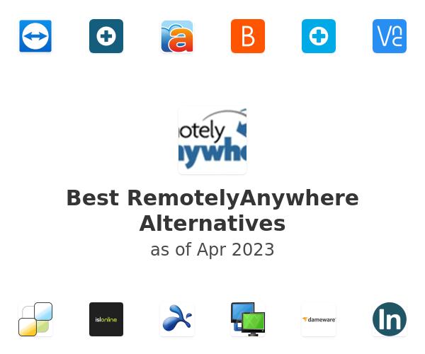 Best RemotelyAnywhere Alternatives