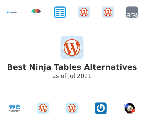 Best Ninja Tables Alternatives