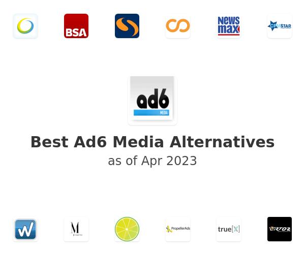 Best Ad6 Media Alternatives
