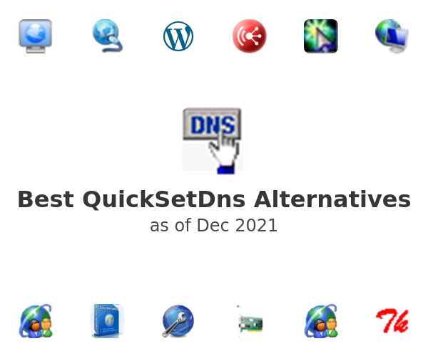 Best QuickSetDns Alternatives