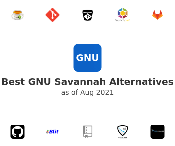 Best GNU Savannah Alternatives