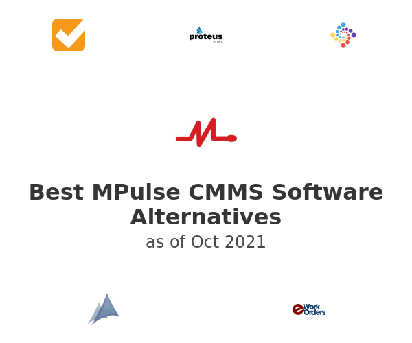 Best MPulse CMMS Software Alternatives